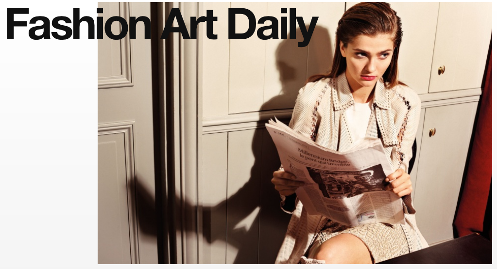 Fashion Vs. Art daily content is now over at Fashion Art Daily