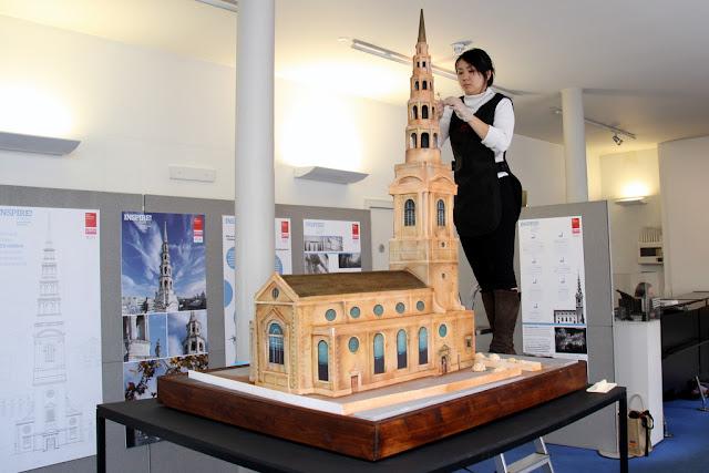 St Bride's Church Cake