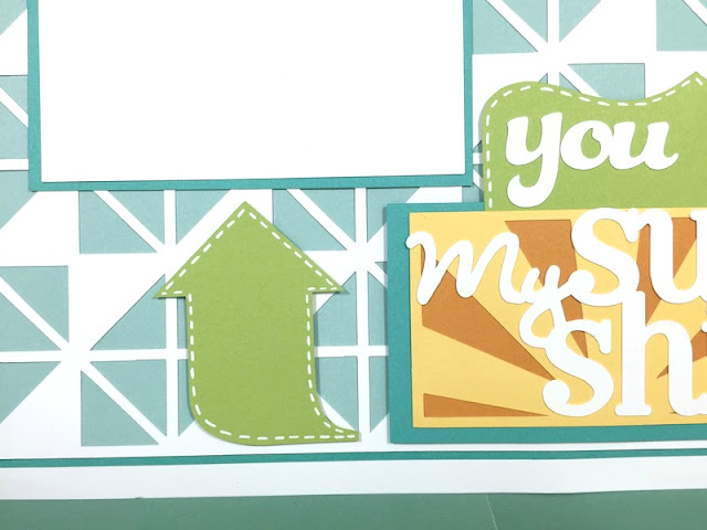 Cricut Sunshine Layout