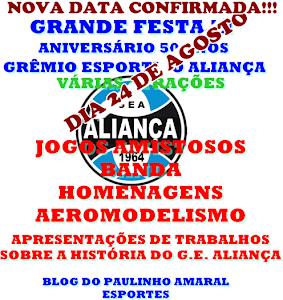 NOVA DATA ANIVERSÁRIO DO G.E. ALIANÇA