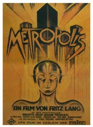 1927 : Fritz Lang : Metropolis (Cartel original)