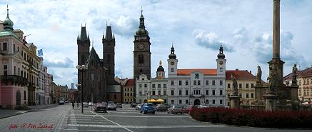 a) Hradec Králové