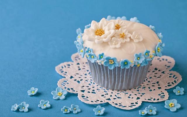 Sweet Cupcake Flowers