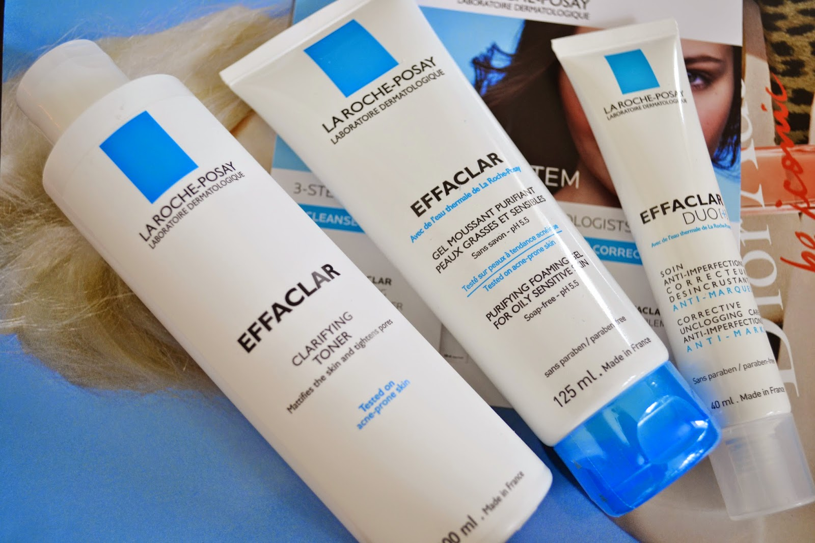 La Roche-Posay Effaclar 3-Step Anti-Blemish System Review - Aspiring Londoner