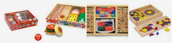 Today Only! Get 50% Off of Select Melissa and Doug Toys