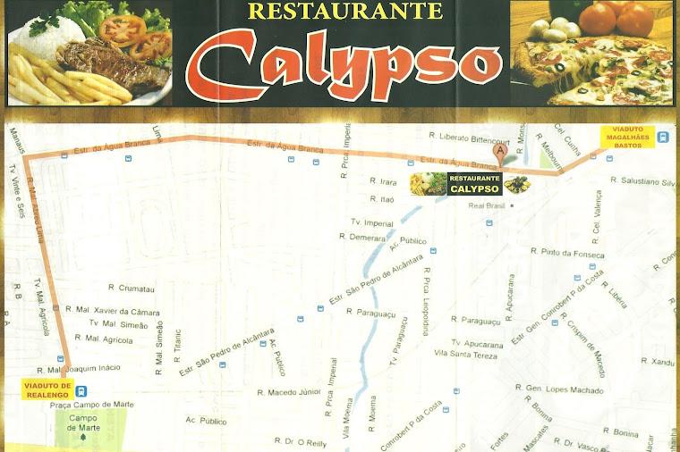 Saiba como Chegar ao Calypso!