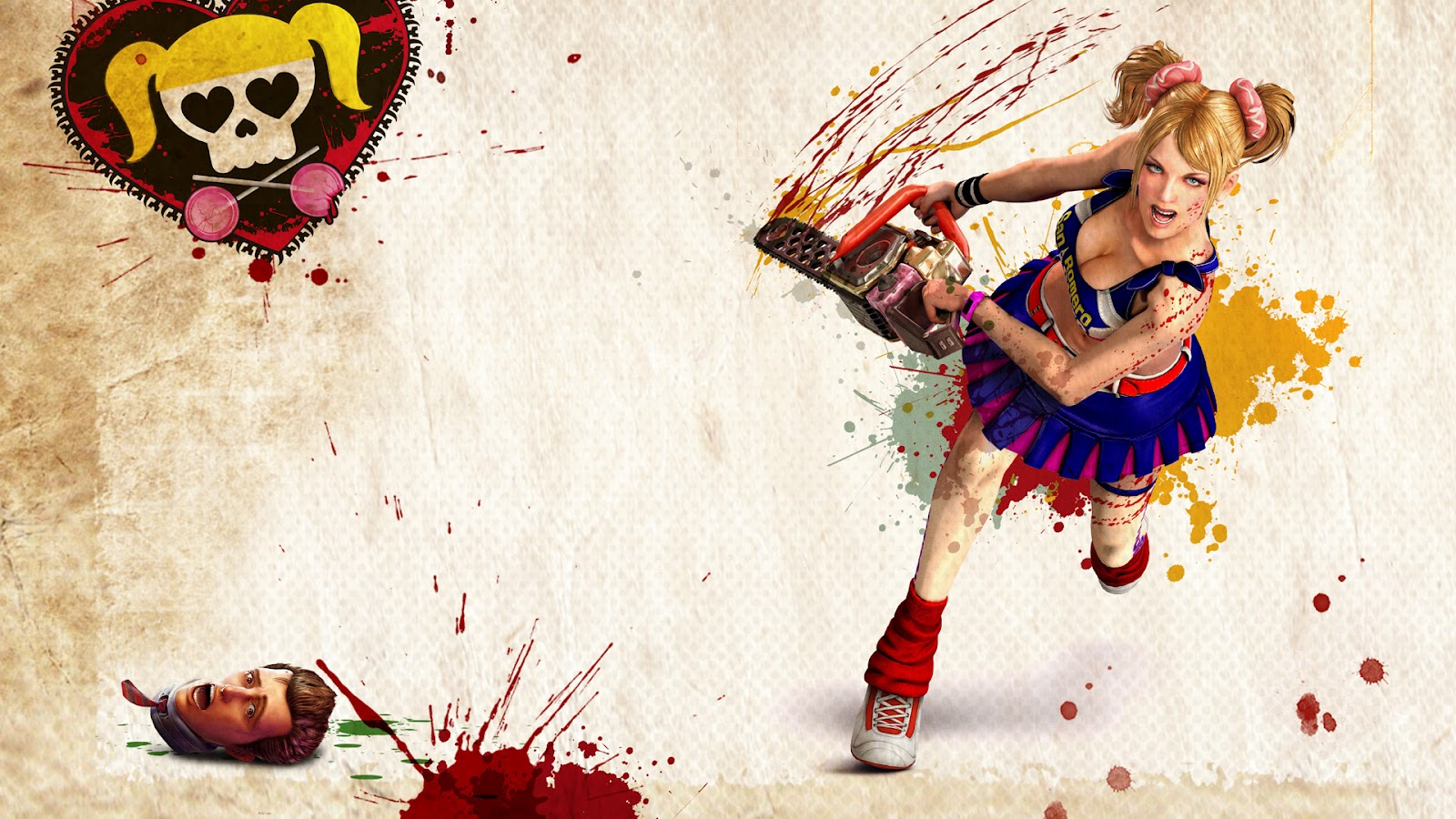 lollipop chainsaw hack and slash HD Lollipop Chainsaw Wallpapers in HD   1080p