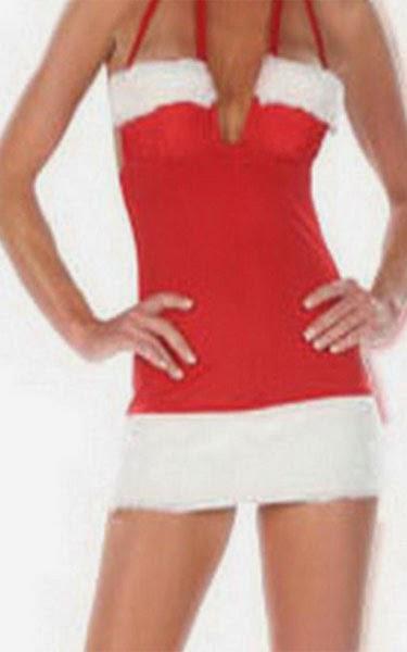 EOZY Women Halter Mini Dress for Christmas