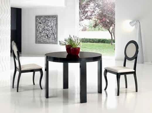 Muebles de comedor 5 mesas de comedor redondas extensibles for Alrededor de tu mesa