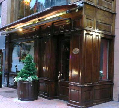Photo of the exterior of Felidia restaurant in New York