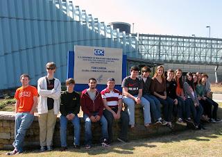 AP Biology Tours US Dept. of Health and Human Services CDC in Atlanta 1