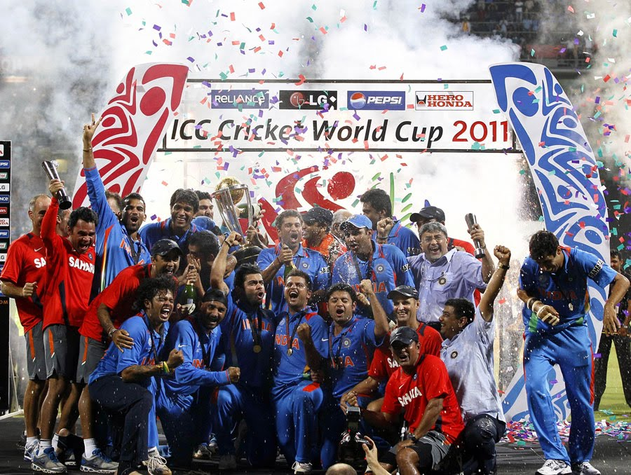 world cup 2011 winners. ICC WORLD CUP-2011 WINNER