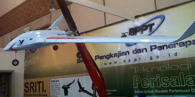 Roket dan Pesawat Tanpa Awak Made in Indonesia akan Dipamerkan di Monas