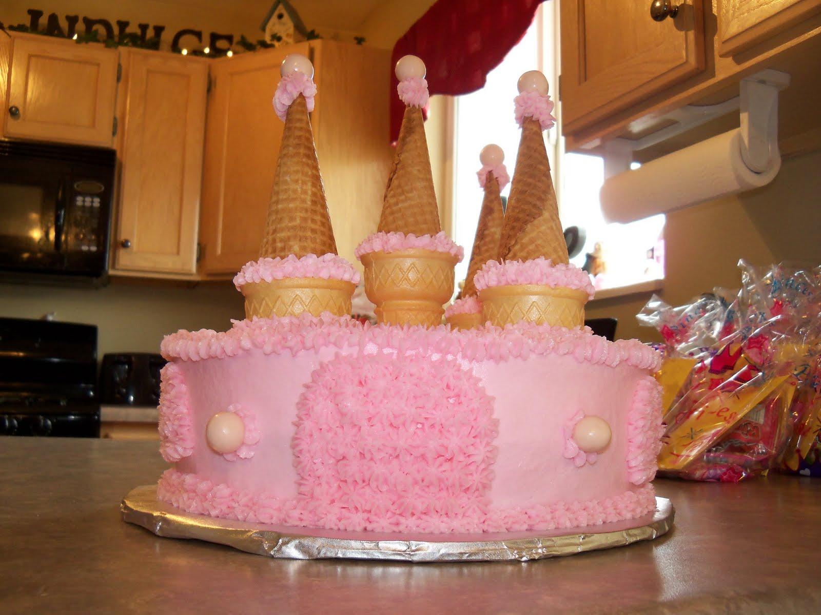 Dede S Cakes Princess Castle Cake