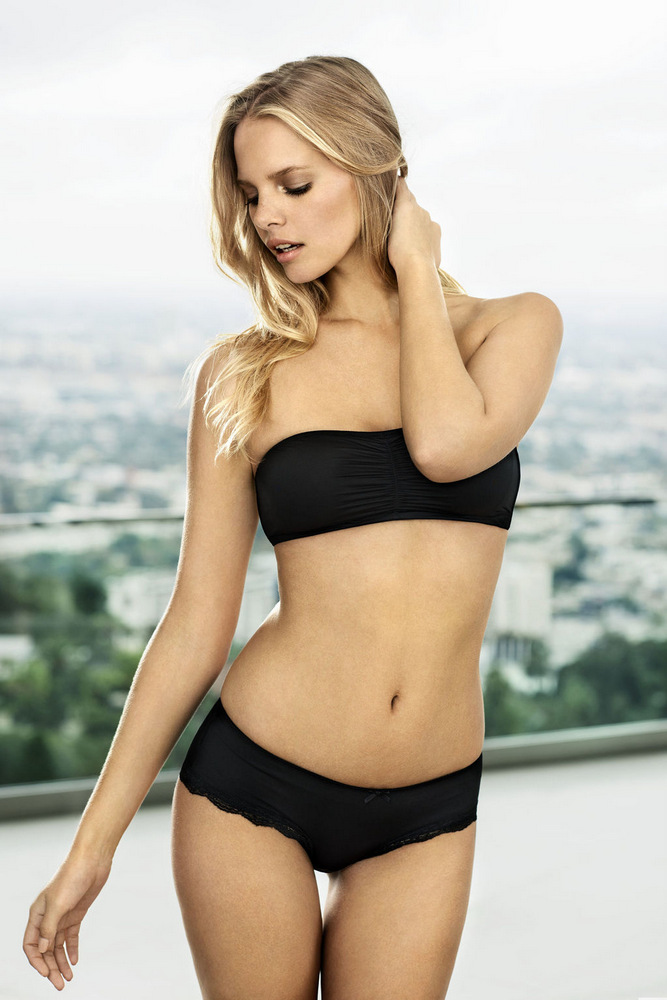 Marloes Horst for Cubus Spring Lingerie 2013