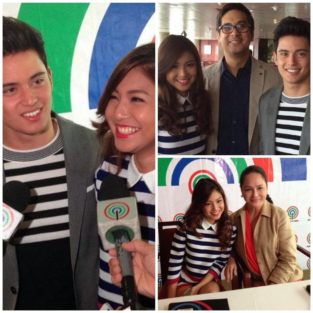 james reid and nadine lustre sign contract with abs-cbn