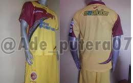 Foto jersey Sriwijaya FC Terbaru 2013 (Sabtu, 2 Februari)