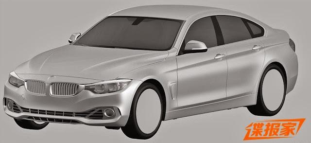 Patentzeichung BMW 4er Gran Coupé