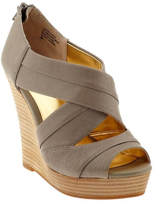 Beautiful High Wedge Sandals