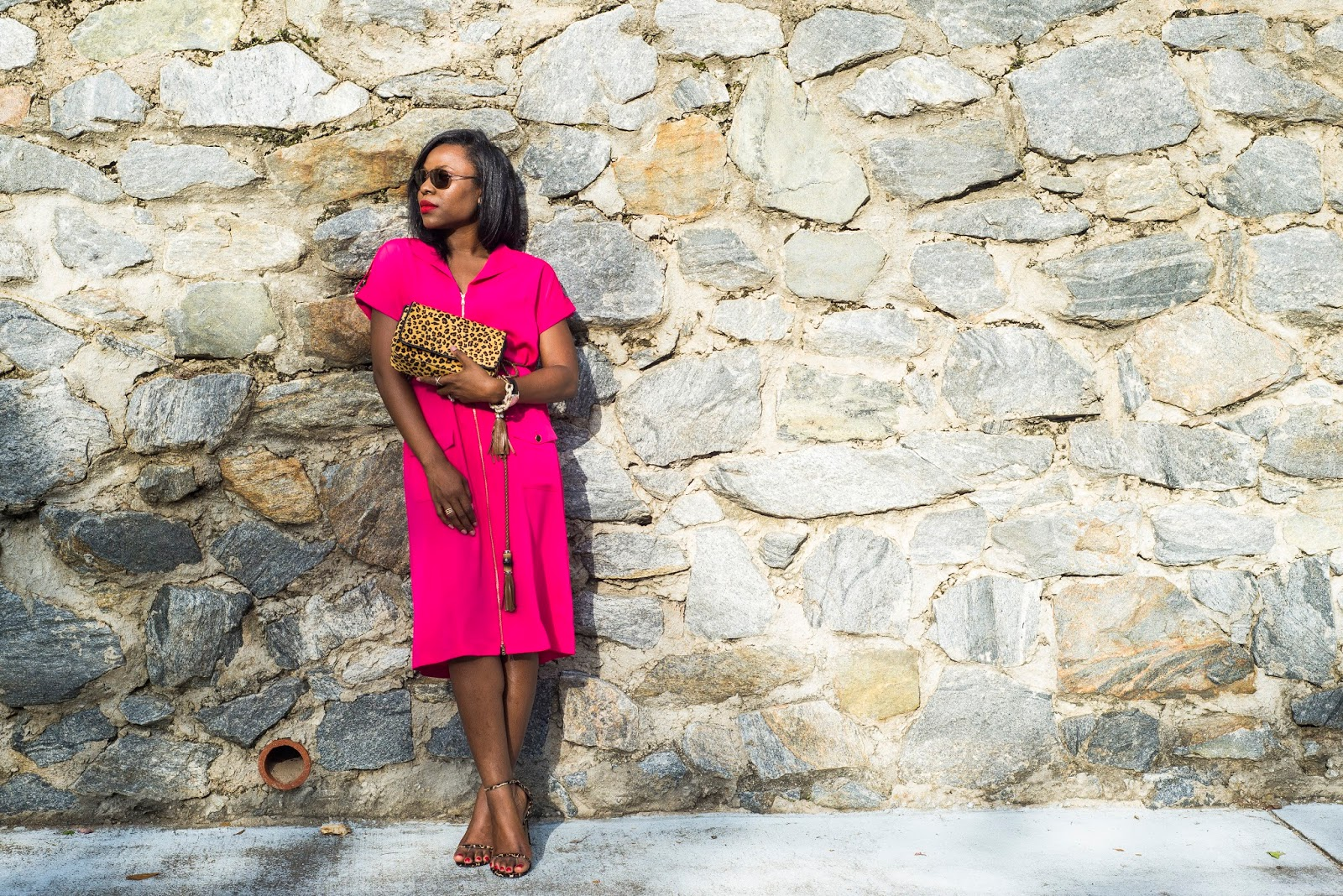 Weekend Style Inspiration: Pink Dress