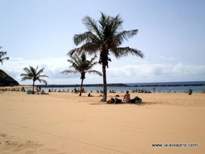 Playa Teresitas, Santa Cruz Tenerife