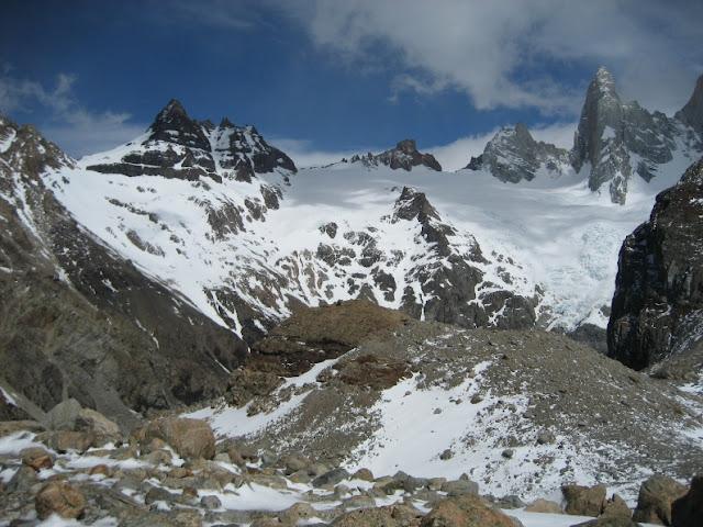 Trekking Chalten lago de los tres