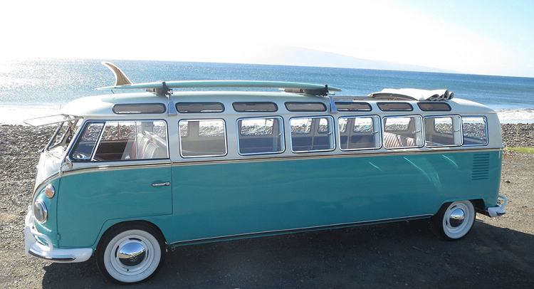 so much want! one-of-a-kind vw microbus stretch limo sold for $220k