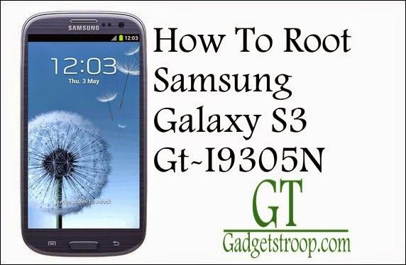 Root Samsung Galaxy S3 GT-I9305N