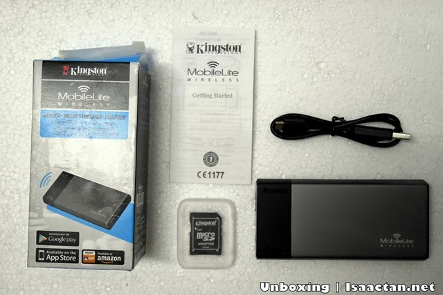 Unboxing the Kingston Digital Mobilite Wireless Flash Reader (MLW221)