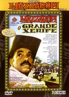 Mazzaropi: O Grande Xerife - DVDRip Nacional