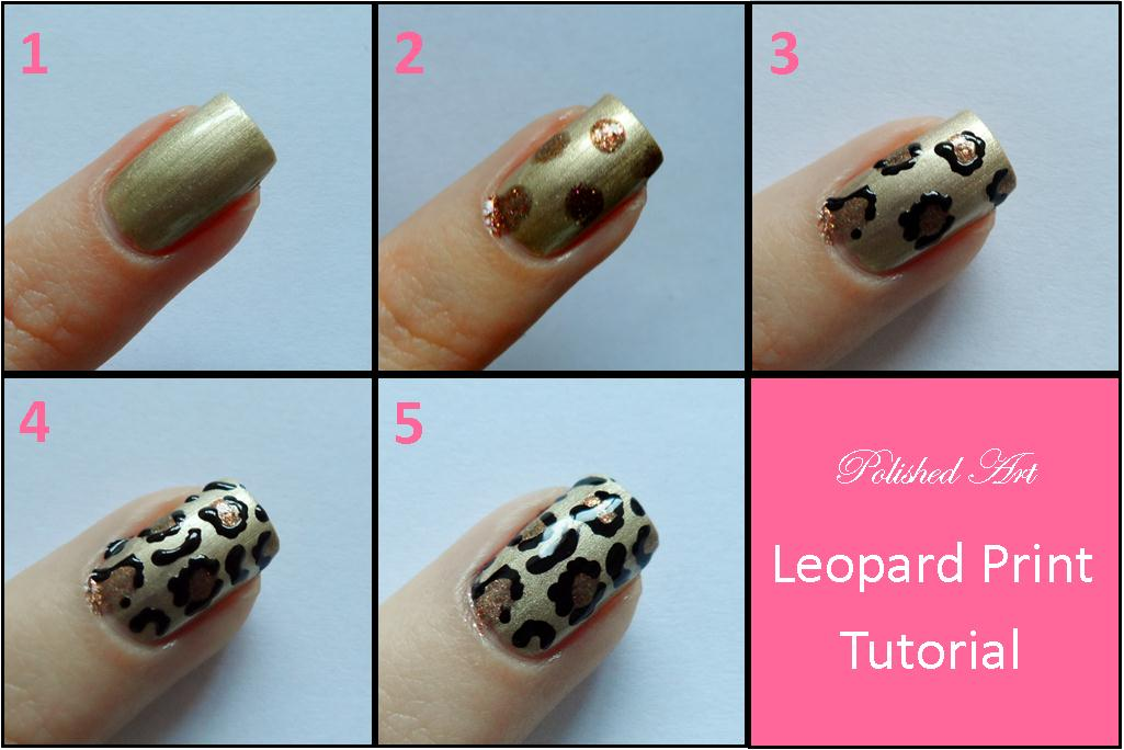 Leopard nail art designs step by step nails on leopard cheetah leopard nail art designs step by step you like here s the step by picture prinsesfo Gallery