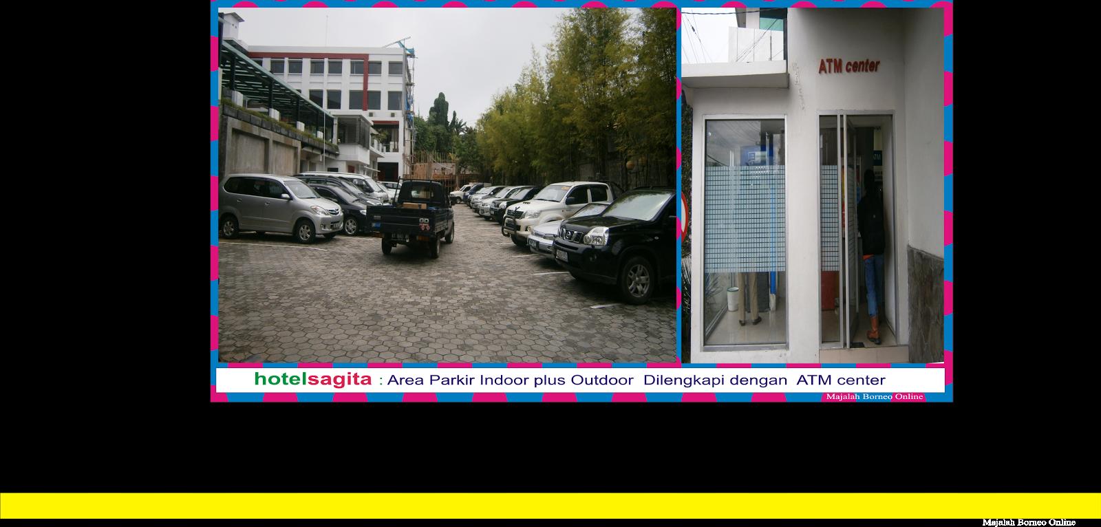AREA PARKIR  HOTEL SAGITA