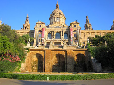Museu Nacional d'Art de Catalunya in Montjuïc