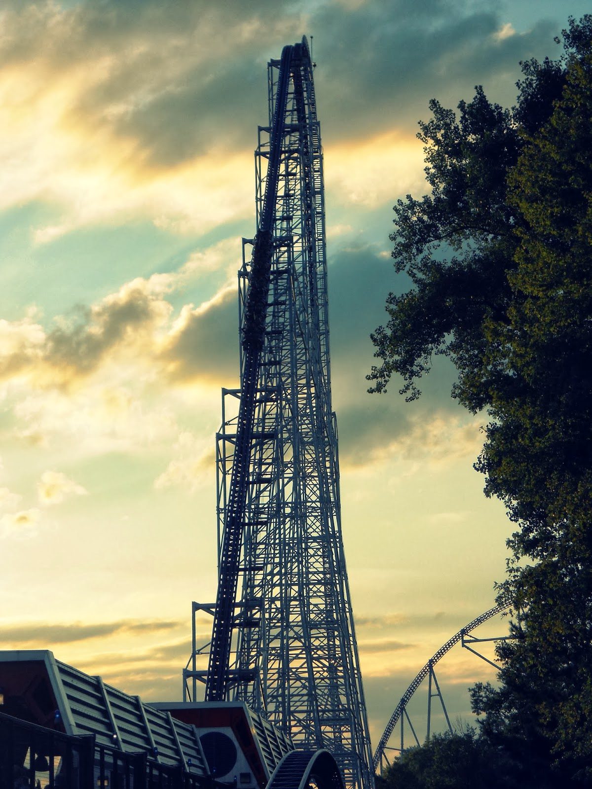 millennium force terrifying coaster