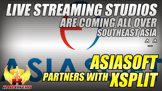 Asiasoft Partners With XSplit, Live Streaming Studios Are Coming All Over Southeast Asia