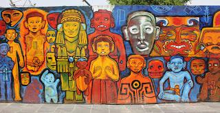 Parte 2 del mural en México DF