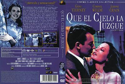 Qué el cielo la juzgue | 1945 | Leave Her to Heaven | Dvd Cover | Caratula