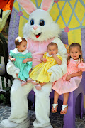 We did Emeny's first Easter Bunny Pictures!! She is so cute and did so well. easter collage