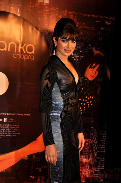 Priyanka Chopra at Launch of her 'In My City' album