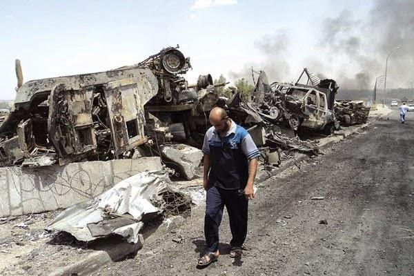 69 orang tewas dalam serangan udara di Irak barat