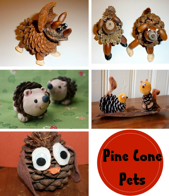 Christmas Pine Cone Crafts Pine Cone Crafts