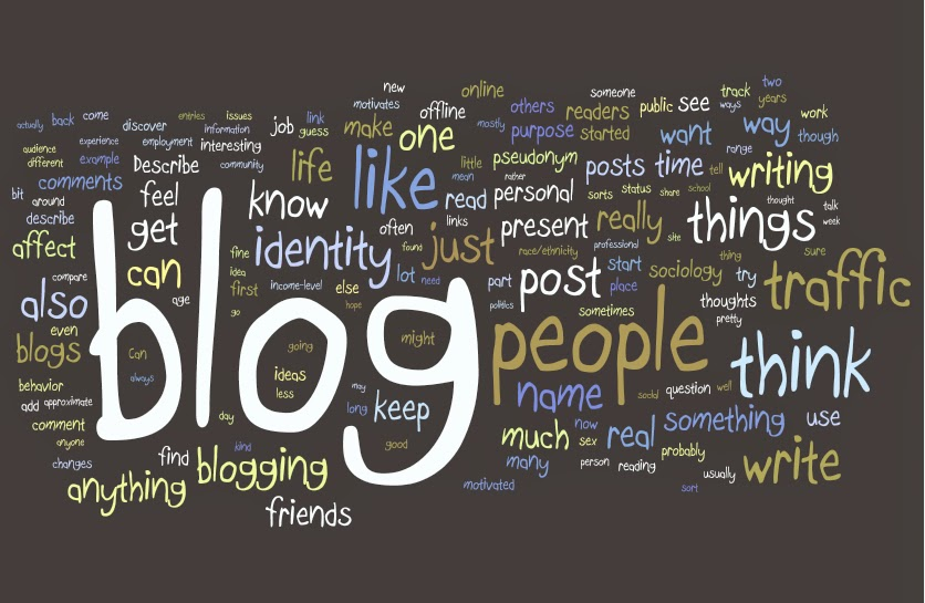 Goal of blogging