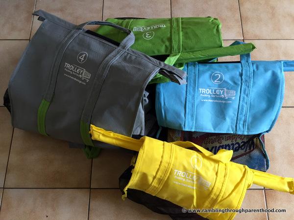 Set of 4 Trolley Bags