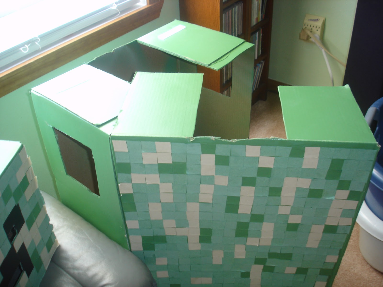 how to make a minecraft costume