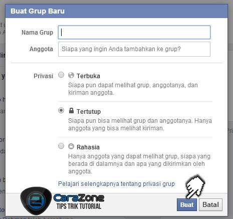 Cara Membuat Grup Facebook Terbaru