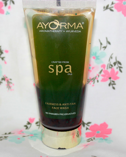 Ayorma Fairness & Anti-Tan Face Wash Review