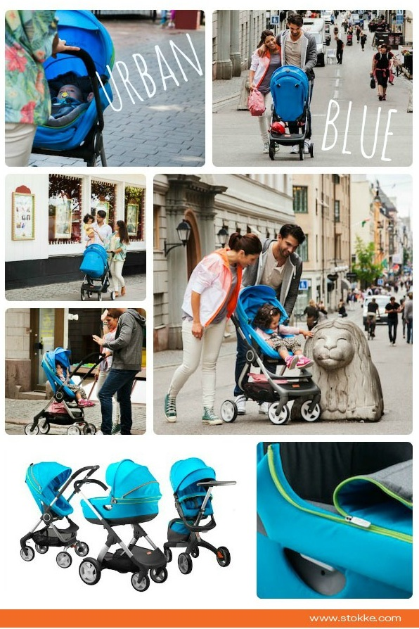 New Stokke Urban Blue 2013