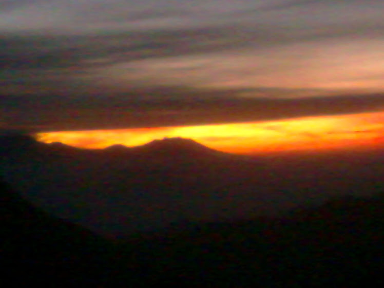 Sunrise on Mount Bromo I