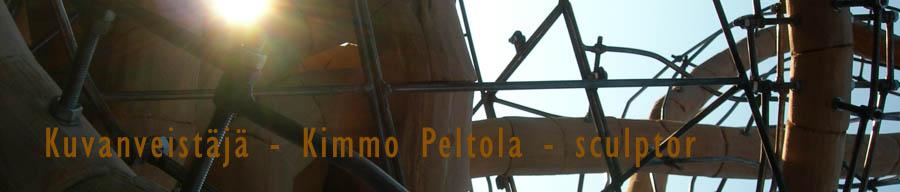 Kuvanveistäjä Kimmo Peltola