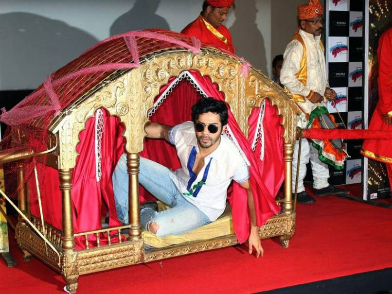 Varun Dhawan at Humpty Sharma Ki Dulhania Trailer Launch